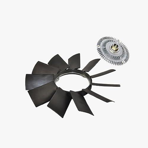 Engine Fan Clutch + Fan Blade Kit for BMW E32 E36 E46 E53 E39 328Ci 323Ci