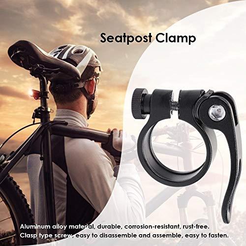 ahomi Bike Seat Post Tube Clip - Schnellspanner aus Aluminiumlegierung - für Rennräder Fahrradsitze - 3