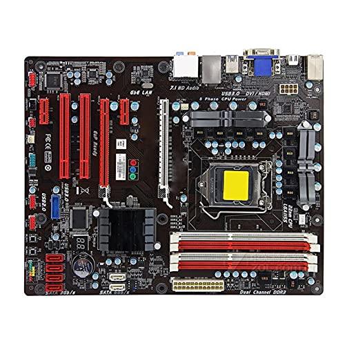 SYFANG Fit for BIOSTAR TZ77A Placa Base Intel Z77 LGA 1155 DDR3 32G SATA3 USB3.0 ATX Placa Base de computadora