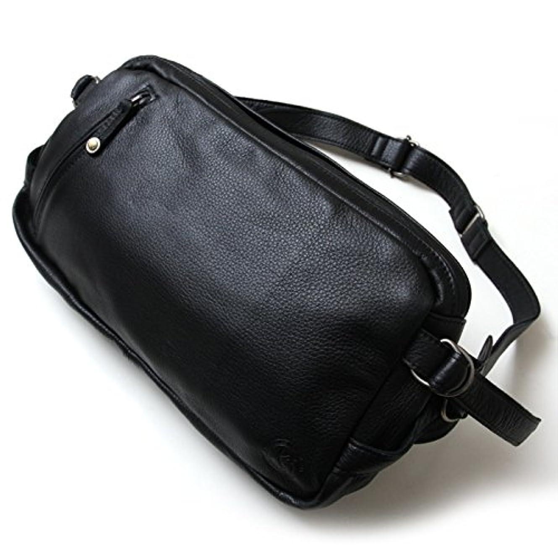 万一に備えてルーフ食べるKC,s kcs ケーシーズ ケイシイズ スクエア ショルダーポーチ #1【ブラック】大サイズ :カバン 大きい ショルダーバッグ メッセンジャー ボディバッグ レザー 本革 メンズ カバン 通勤 通学 アメカジ 鞄 斜めがけ 大容量