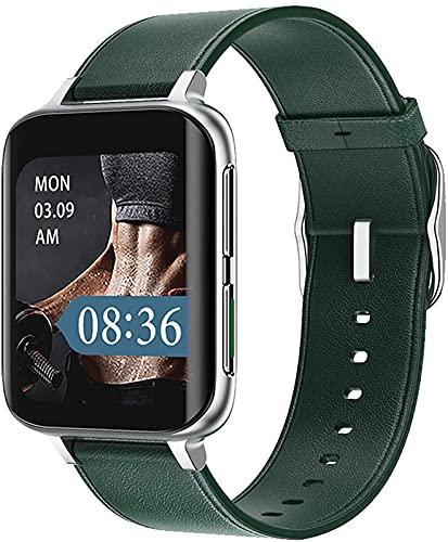 ALXLX Soportes De Pantalla De Bluetooth Smart Watch De 1.78 Pulgadas Soportes De Pantalla Hiperboloides, Fondos, Múltiples Modos De Deportes, Smartwatch Femenina Dt93, E