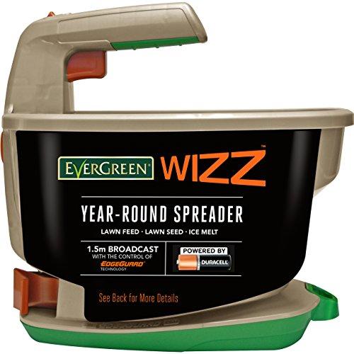 EverGreen Wizz Year-Round Spreader Saatgutstreuer, grau, 29,4x19,9x27,5 cm