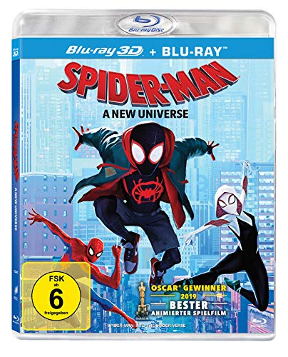 Spider-Man: A new Universe (3D Blu-ray, 2 Disc)