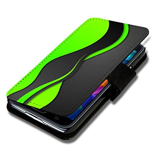 sw-mobile-shop Book Style Flip Handy Tasche Case Schutz Hülle Schale Motiv Etui für Wiko Sunset 2 - Flip 1A46 Design8