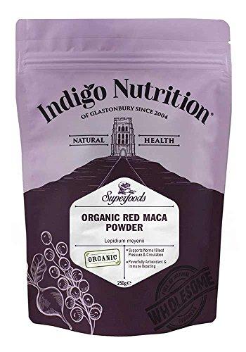 Indigo Herbs Polvo de maca roja orgánica 250g