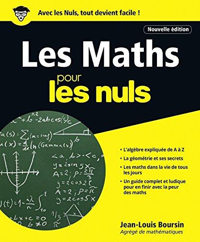 Les Maths pour les Nuls, 2e édition
