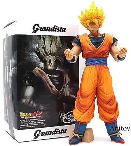 Figurine Action Dragon Ball Z Fils Goku Gokou Grandista ROS Résolution des Soldats Dragon Ball DBZ PVC Figure Collection Modèle Jouet