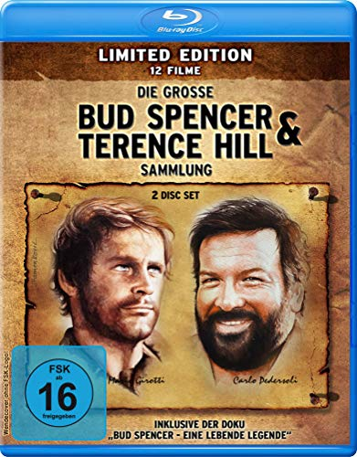 Die große Bud Spencer & Terence Hill BD Sammlung - Limited Edition [Blu-ray]
