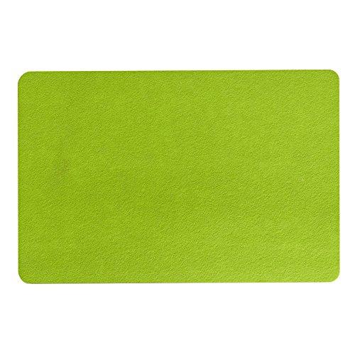 Zeller 26984 Felt napperons, 45 x 30 cm, vert