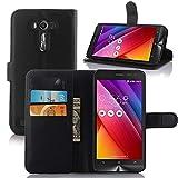 pinlu® Etui en Cuir pour ASUS Zenfone 2 Laser ZE500KL Case de Style Affaires Prime Étui...