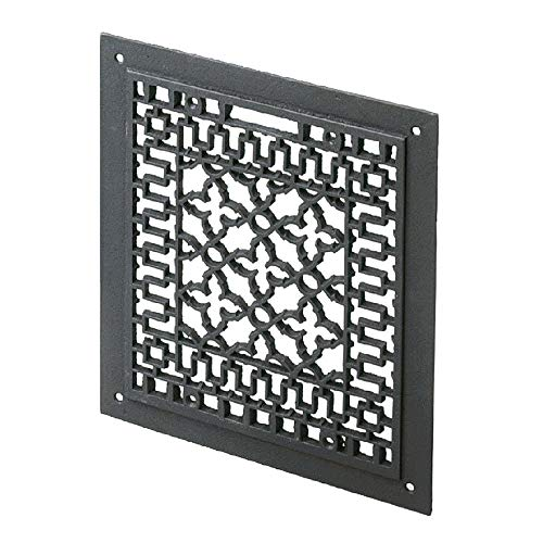 Lowest Prices! Minuteman International Cast Iron Floor Grate Grille, Black (Renewed)
