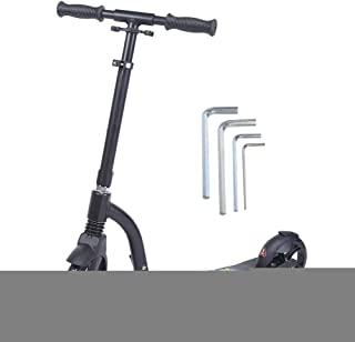💘Romantic Gift💘High Reliability Work Scooter, Large Wheel Scooter, Stable Performance Professional Manufacturing Schooly...