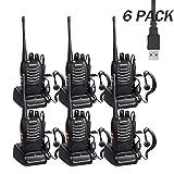 Sunreal Talkie walkie Profession Longue portée Two Way Radio Rechargeables avec des...