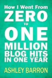 How I Went From Zero to One Million Blog Hits in One Year