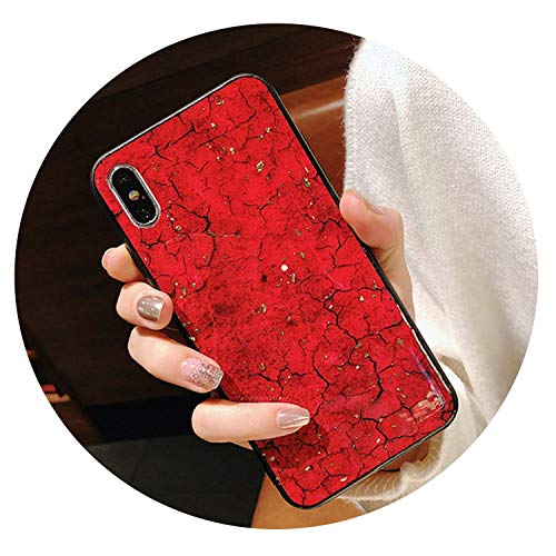 Luxury Glitter Phone Case on for Xiaomi 8 SE 9 5X A1 6X A2 Lite Max 3 Redmi 5 Plus 6 6A 5A Note 5 6 pro 7 S2 Bling Diamond Cover,red,for Xiaomi 5X