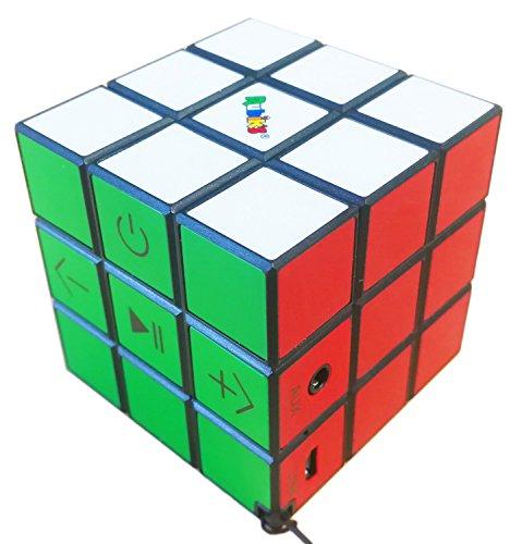 Big Ben BT17RUBIKS - Altavoz Portátil inalámbrico Cubo Rubik, Bluetooth, Manos Libres, 9 w, Multi