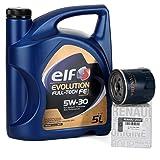 Duo Servicio - Elf Evolution Full Tech 5W-30 5 lts + Filtro aceite Original 152089599