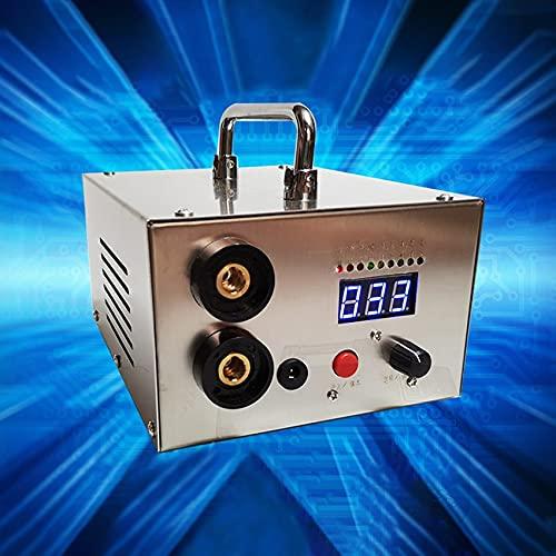 CLJ-LJ Herramientas de soldadura de la batería de 5000W Herramientas de soldadura Máquina de soldadura por puntos ajustable portátil 0.2mm Tira de níquel para DIY 18650 Batería