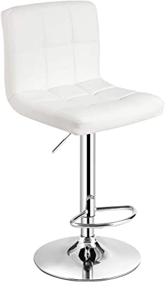 2 x  PU Leather Breakfast Lounge Bar Kitchen Pub Swivel Chairs Stools Seats