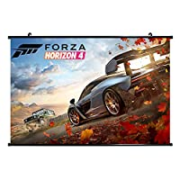YLWX 壁掛け Forza Horizon 3 ポスター 寝室 カーテン 部屋飾り (Color : 1, Size : 60×40cm)