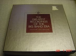 2 Audio Music Cassette Set Of The Greatest Recordings of The Big Band Era Archive Of TOMMY DORSEY AND HIS ORCHESTRA. Box set with booklet.