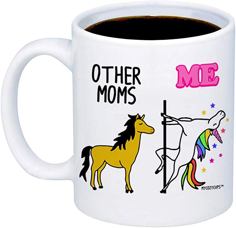 MyCozyCups Gifts For Mom Other Moms Unicorn Coffee Mug Funny Unique 11oz Cup For Mothers Stepmom In Law From Daughter Son Mother S Day Birthday Christmas Gift Valentine S Day For Women