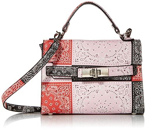 Steve Madden DIGNIFY Bandana Print Top Handle Bag, Multi