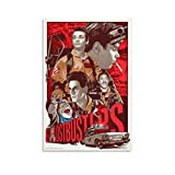 xiaoxian Ghostbusters Cartoon Leinwand-Kunst-Poster und