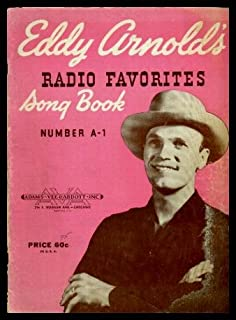 Eddy Arnolds Radio Favorites Song Book