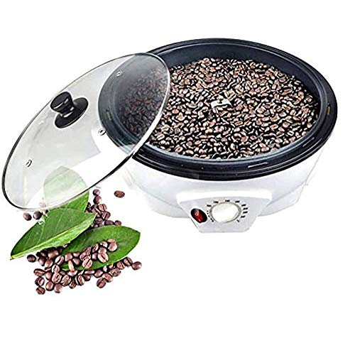 1200W Coffee Roaster, Elektrische Kaffeebohne Röstmaschine 100-240 ℃ Einstellbar, Kaffeebohnen Soja Erdnuss-Melone-Samen Backautomaten
