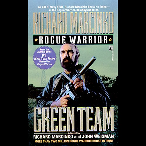 Rogue Warrior: Green Team audiobook cover art