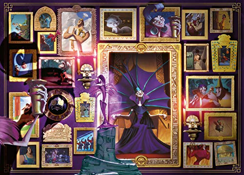 Ravensburger Puzzle 1000 Pezzi, Yzma, Collezione Villainous, Puzzle per Adulti, Puzzle Villainous Disney, Stampa di Qualità, 165223