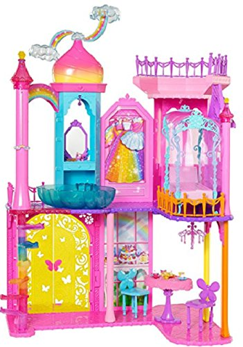 バービー人形Barbie DPY39 Rainbow Cove Princess Castle Playset [並行輸入品]