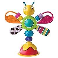 """Lamaze Babyspielzeug """"Freddie, das Glühwürmchen"""" mehrfarbig - hochwertiges Hochstuhlspielzeug - vereint Rassel und Greifling - fördert die Motorik Ihres Kindes - ab 6 Monate"""
