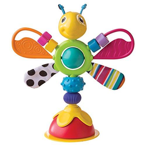 """Lamaze Babyspielzeug \""""Freddie, das Glühwürmchen\"""" Mehrfarbig, Hochwertiges Hochstuhlspielzeug, Rassel und Greifling, Förderung der Motorik, Hochstuhl Spielzeug, Ideales Weihnachtsgeschenk, ab 6 Monaten"""