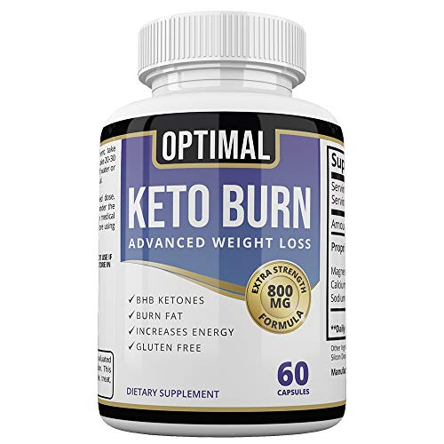 Exogenous Ketones - Carb Blocker for Men & Women - Weight Loss Supplement for Keto Diet Pills - 60 Capsules - Optimal Keto Burn Advanced Weight Loss