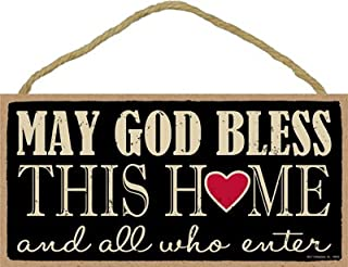 SJT ENTERPRISES, INC. May God Bless This Home and All who Enter  5