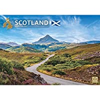 SCOTLAND A4 CALENDAR 2021