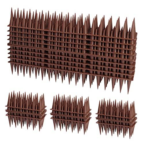 TBCWRH Dissuasori per Piccioni 4.2 Metri Spuntoni per Piccioni Anti Piccioni Balcone Scaccia Piccioni Dissuasore Piccioni Veleno per Piccioni per Balcone Terrazza Finestra 14pcs(30*4.5*3.5CM)