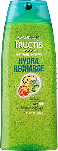 Garnier Fructis Hydra Recharge Fortifying Shampoo 25.40 oz (Pack of 2)