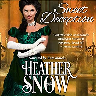 Sweet Deception: A Veiled Seduction Novel audiobook cover art