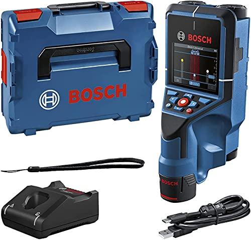 Bosch Professional 12V System Detector D-tect 200 C (batería de 12V, detección...