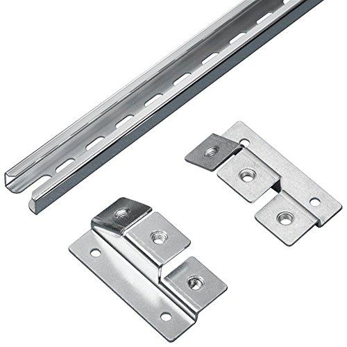 Rittal cm 5001.081Kabelmanagement-Panel Rack-Kabelmanagement–Zubehör (Schalttafel, silber, Stahl, TS 8, cm, TP, 699mm, 450g)