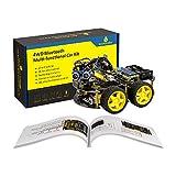 KEYESTUDIO Robot Coche Inteligente con R3 Board, Sensor de Seguimiento...