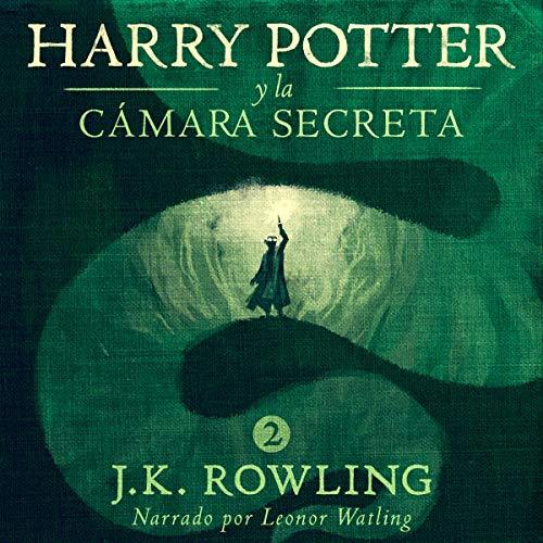 Diseño de la portada del título Harry Potter y la cámara secreta
