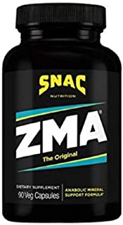 SNAC ZMA The Original Recovery and Sleep Supplement, 90 Capsules