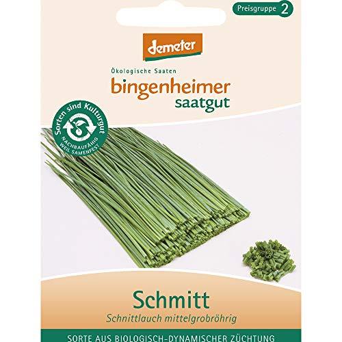 Bingenheimer Saatgut AG Bio Schmitt Schnittlauch mittelgr. (2 x 1 Stk)