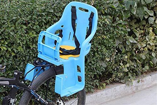 HGFLYL Fahrrad Kinder Kind Kleinkind hinten montiert Babytragen Sitz, Allround Sicherheitsgurt, mit Handlaufträger, Fit Kinder (Baby bis Kleinkind) 8-6 Jahre alt
