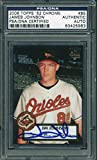 Orioles Jim Johnson Signed Card 2006 Topps '52 Chrome Rookie #85 PSA/DNA Slabbed - Baseball Slabbed Autographed Cards. rookie card picture