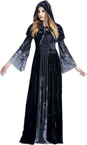 popular Disfraz de Halloween Disfraz de Halloween Halloween Halloween - Disfraz de Bruja Adulta, Disfraz de Cosplay Show, Adecuado para feriado, COS Party, Halloween. ( Talla   Metro )  la mejor selección de